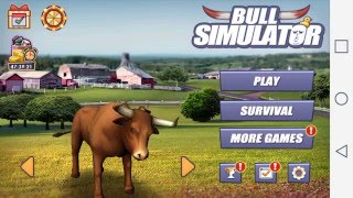 Download Simulador De Toro ″BULL SIMULATOR″ Para Android Gameplay Video