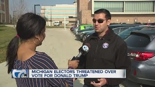 Download Michigan elector threatened online Video