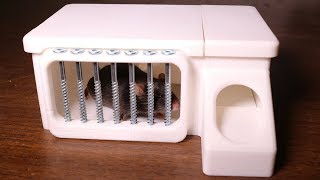 Download 3D Printed Delusion Mousetrap Based On A 1876 Patent. Video