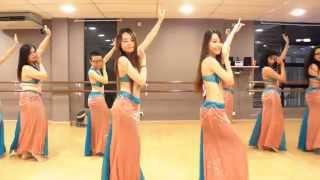 Download Belly Dance Class ″Habibi Ya Eini″ Choreography @ DancePot, KL Video