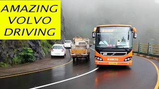 Download VERY Dangerous Volvo Bus Driving on Himalayan Roads Video