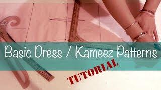 Download ♥ Basic dress/kameez patterns ☁ Video
