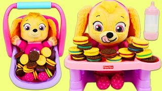 Download LEARN COLORS Paw Patrol Baby Color Matching Cookies Game Best Learning Colors Video for Children! Video