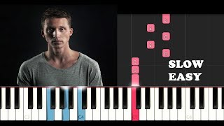 Download NF - Lie (SLOW EASY PIANO TUTORIAL) Video