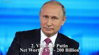 Download Top 10 Richest Presidents ★ 2019 Video