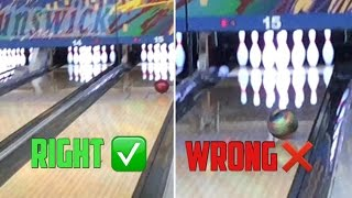 Download How to curve a bowling ball the RIGHT way! Video