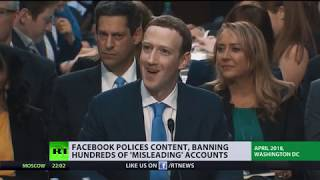 Download Facebook polices content, banning hundreds of 'misleading' accounts Video