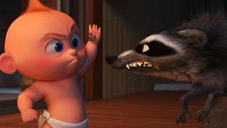 Download Incredibles 2 Fight Scene in Full: Jack-Jack vs. Raccoon (Exclusive) Video