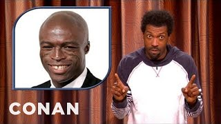 Download Deon Cole On Seal Getting Mistaken For Michael Clarke Duncan - CONAN on TBS Video