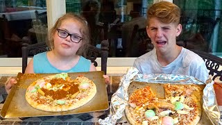 Download Pizza Challenge REMATCH! (MattyBRaps vs Sarah Grace) Video