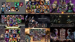 Download Mortal Kombat: Select Screen Evolution MK1 to MKX [Update] Video