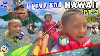 Download ♫ I LAVA YOU ♫ Kids Scuba Diving & Kayaking Near Hawaii Volcano (FUNnel Vision Trip - Maui Part 3) Video