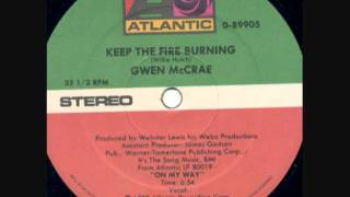 Download Gwen McCrae - Keep The Fire Burning Video