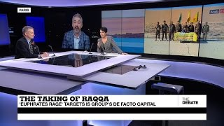 Download The taking of Raqqa: 'Eurphrates Rage' targets IS group's de facto capital Video