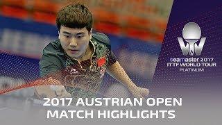 Download 2017 Austrian Open Highlights: Liang Jingkun vs Robert Gardos (R32) Video