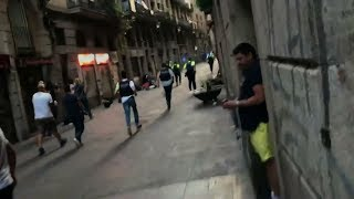 Download Barcelona van attack Video