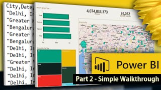 Download Power BI Desktop for Beginners: Create your first Power BI report and dashboard in 10 minutes Video