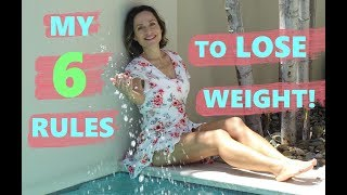 Download 6 SIMPLE RULES TO LOSE WEIGHT FAST: These Really Work! Fit Over 50 Video