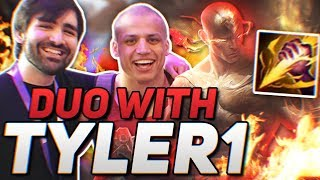 Download Voyboy: THE HOMIE DUO TYLER1 (FULL AD LEE JUNGLE + NEW RIOT VOICE CHAT) Video