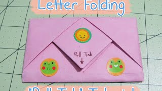 Download ″Pull Tab″ Letter Folding (Origami) Video