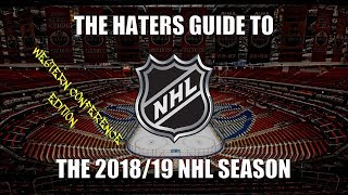 Download The Haters Guide to the 2018/19 NHL Season: Western Conference Edition Video
