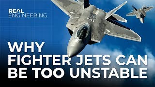 Download Why Fighter Jets Can Be Too Unstable Video