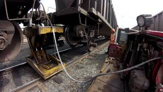 Download Railcar wheel changeout. AKA Insane Repairs Video