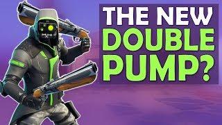 Download THE NEW DOUBLE PUMP   DOUBLE BARREL SHOTGUN - (Fortnite Battle Royale) Video