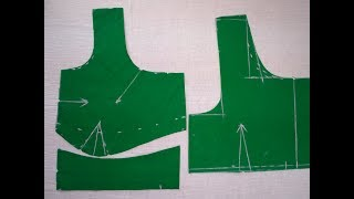 Download Perfect cross cut blouse cutting in Telugu || Easy method and tips Video