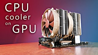 Download CPU cooler on GPU - superb performance! Video