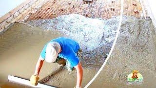 Download Как сделать бетонный пол в гараже Video