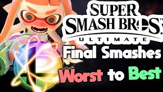 Download Ranking Every Final Smash in Super Smash Bros Ultimate Video
