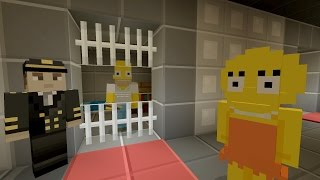 Download Minecraft Xbox - The Simpsons Series - HOMER GETS ARRESTED [2] Video