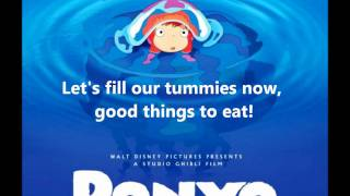 Download Ponyo on the Cliff By the Sea - Lyrics [Full song] Video