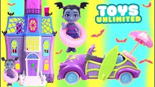 Download Disney Junior Vampirina Batty Beach Cruiser Lights and Sounds Play Set Video