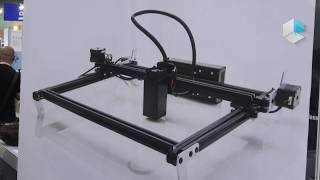 Download Smart DIYs Fabool Laser Mini laser cutter and engraver from Japan Video