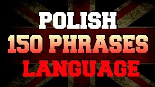 Download Learn Polish language 150 most frequently used phrases and words Video