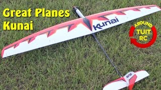 Download Great Planes Kunai Glider Review: Around Tuit RC Video