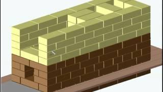 Download Отопительная печь 51х140 см В.Быкова Video