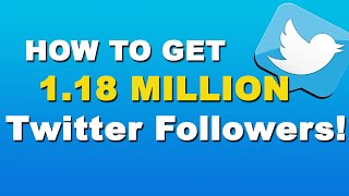 Download How To Get More Followers On Twitter - Twitter Tutorial 2015 Video