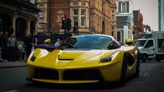 Download BEST Supercars of London! La Ferrari x2, MC12, Bugatti Veyron, and MORE | June 2017 Video