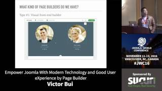 Download JWC 2016 - Empower Joomla with modern technologies... - Victor Bui Video