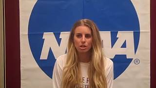 Download SPU VOLLEYBALL: Coach Abbie Wright (Aug. 28, 2017) Video