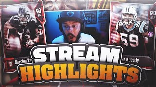 Download I BROKE MY CONTROLLER!! MY BEST PACK OPENING YET | MADDEN 18 STREAM HIGHLIGHTS EPISODE 1 Video
