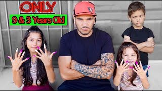 Download The Youngest Sisters To Get Acrylic Nails | Familia Diamond Video