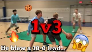 Download I blew a 10-0 lead... INTENSE game of 1v3 Video