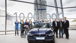 Download Delivery of the ten millionth BMW 3 Series Sedan at BMW Welt in Munich. Video