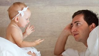 Download Baby argues with Daddy so angry OVER nothing | Funny Father and Baby Compilation Video