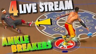 Download FINALLY A SUPERSTAR / 4 LIVE STREAM Ankle Breakers - NBA 2K17 MyPark Video