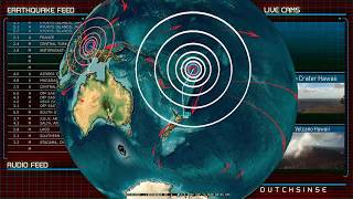 Download 9/16/2018 - Daily Seismic activity across Pacific, Asia, Europe, and Americas Video